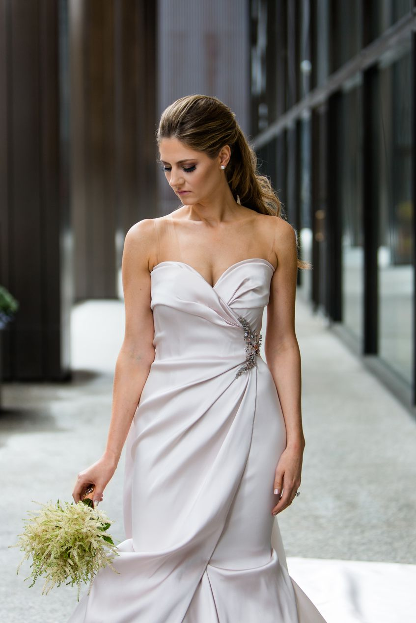 Portrait of the bride