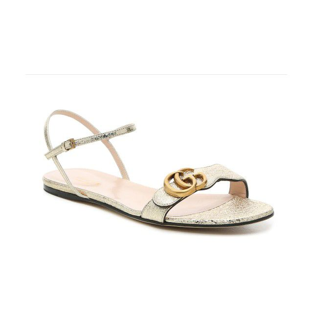 gucci flat sandal