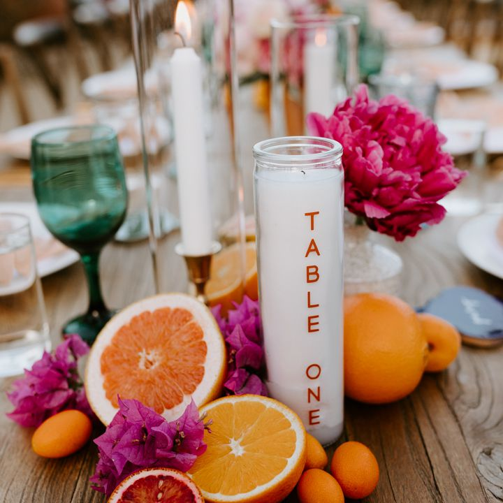 <p>candle table number</p>
