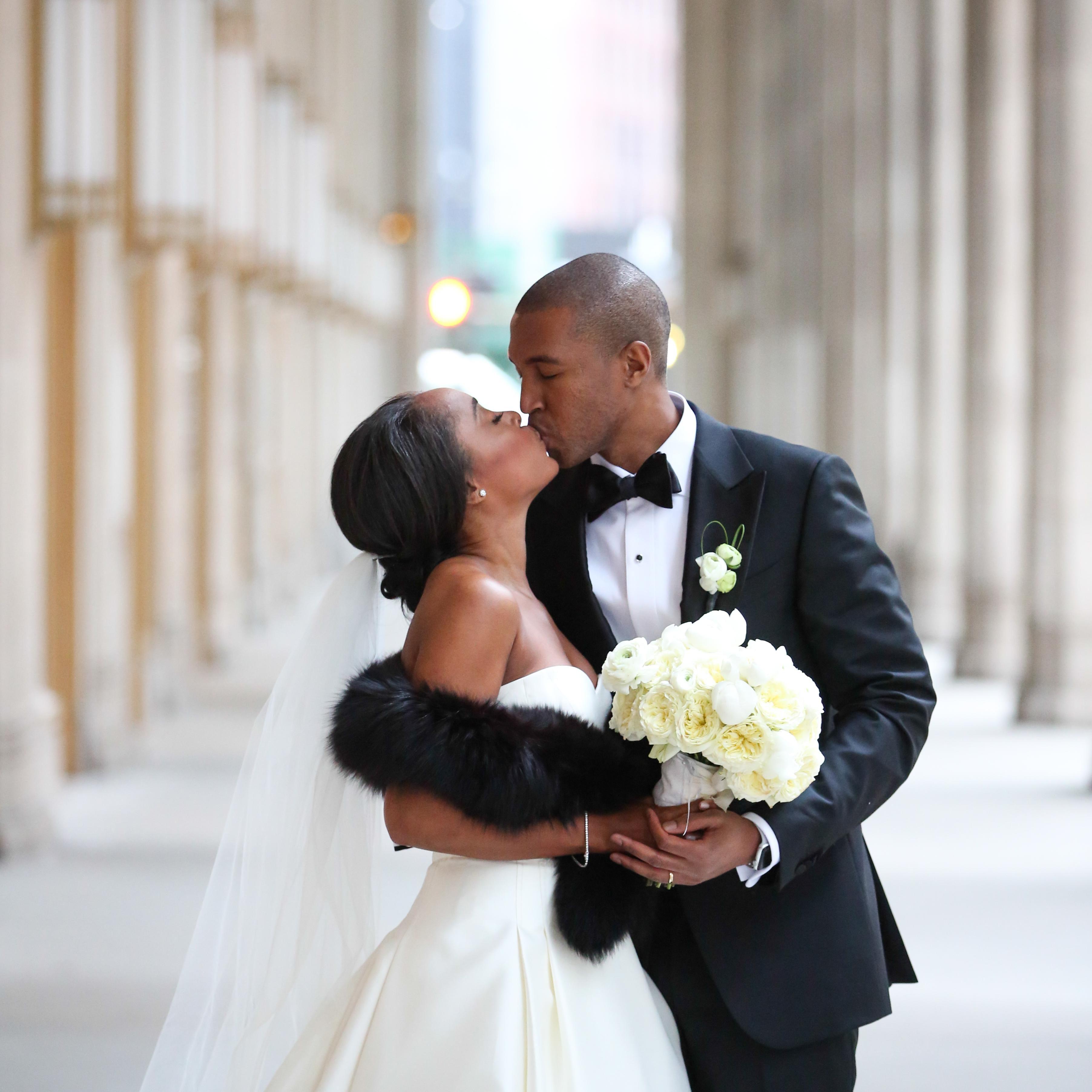 One Couple S Elegant Wedding At The Lyric Opera In Chicago