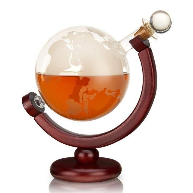 Viski Globe Liquor Decanter