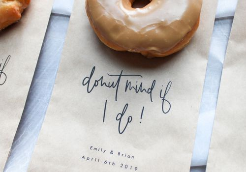 donut as thank you