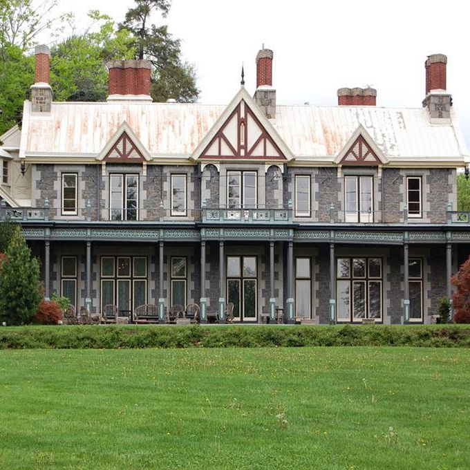 Host your wedding in the carriage house of Rockwood Park and Museum and you might experience some of the famous haunts reported on the 150-year-old estate. The museum's own director, once a skeptic, was convinced after hearing disembodied footsteps while alone in the mansion and the ghostly apparition of a man sitting the corner. Other paranormal accounts, from the sound of children playing to cold spots, have landed this venue on The Biography Channel's My Ghost Story