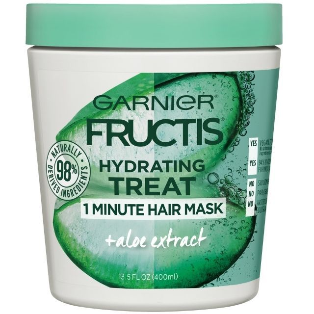 Garnier Fructis Hydrating 1 Minute Hair Mask with Aloe Extract