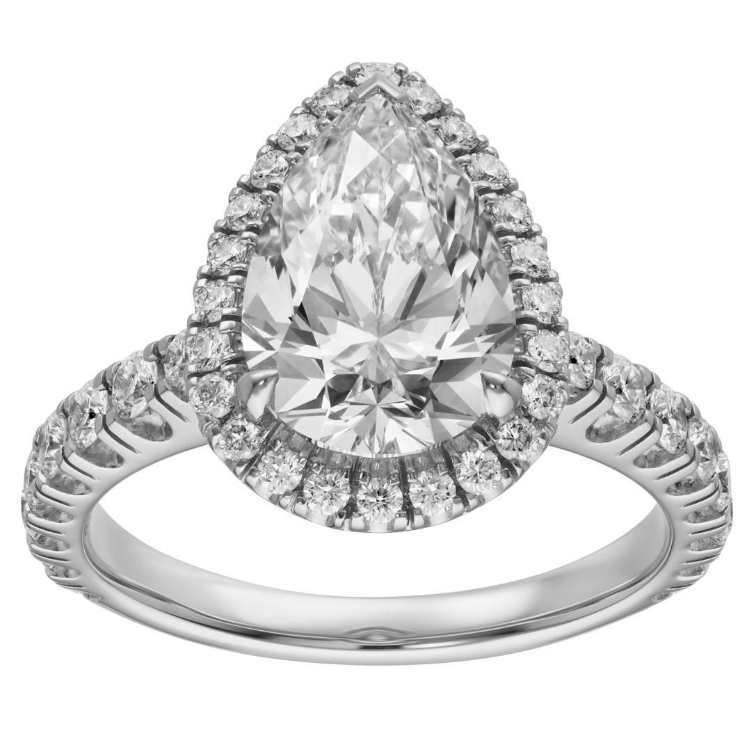 Cartier Destinée Solitaire Pear-Shaped Ring