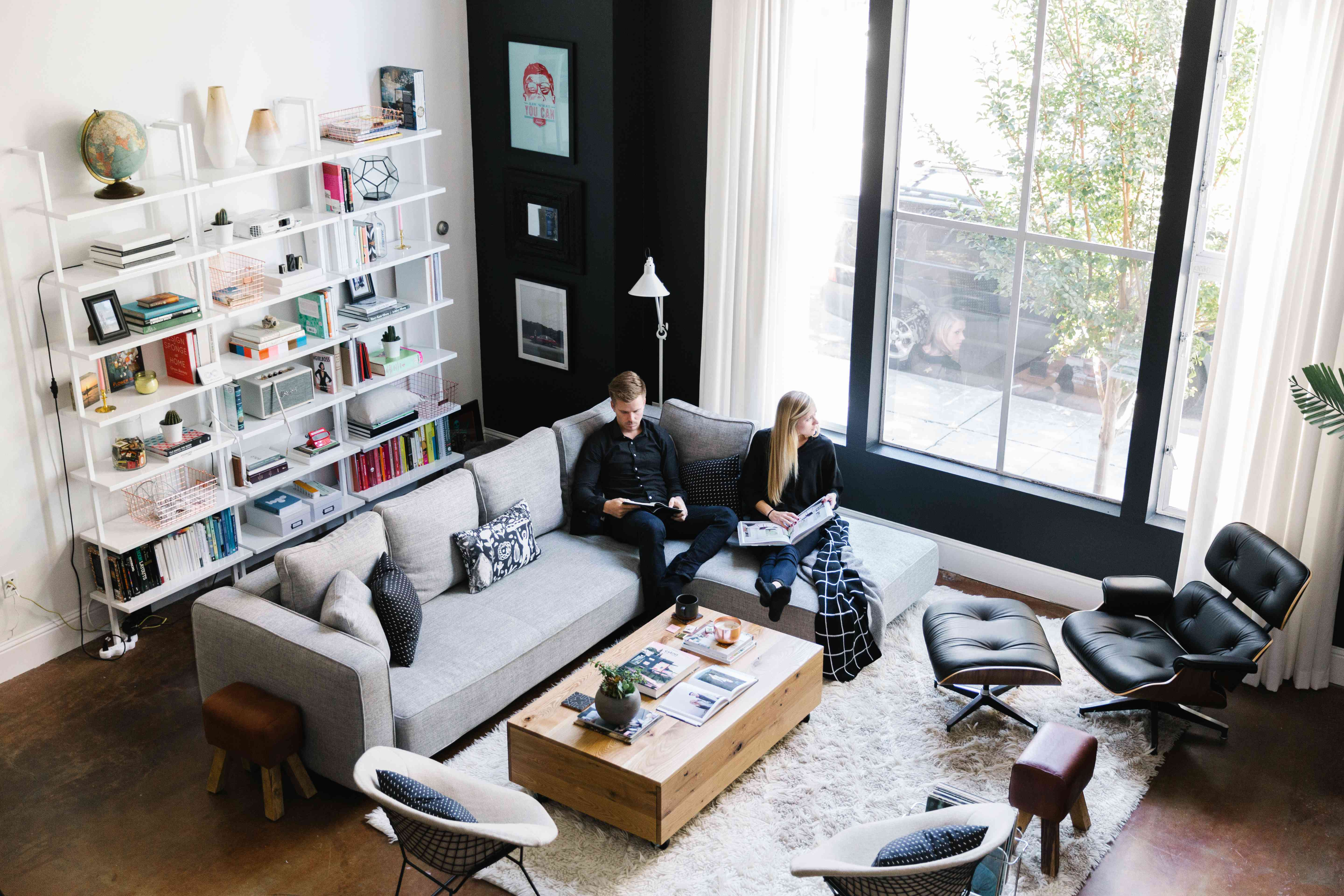 couple in apartment