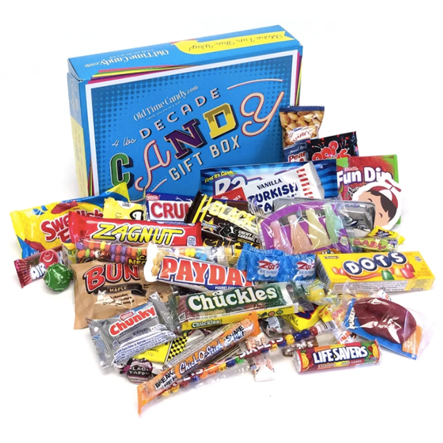 Decade Candy Gift Box