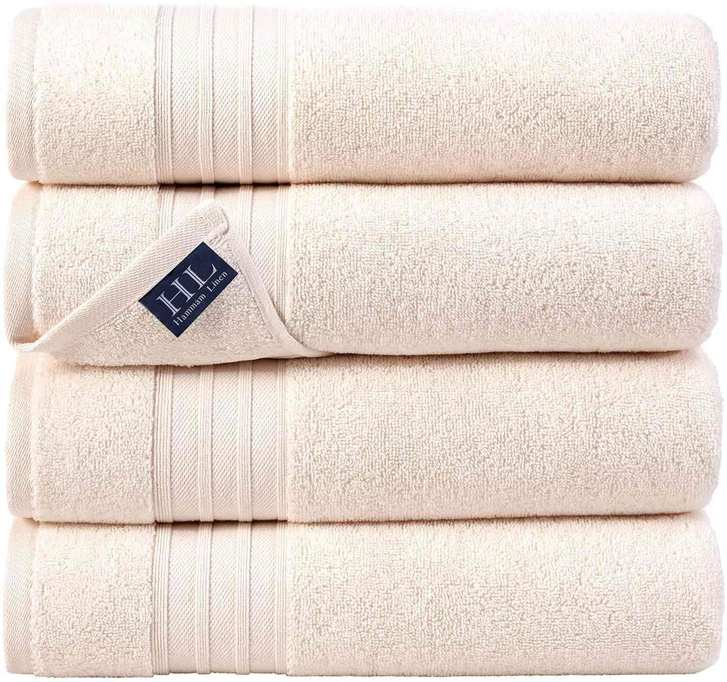 Hammam Linen 100% Cotton Bath Towels