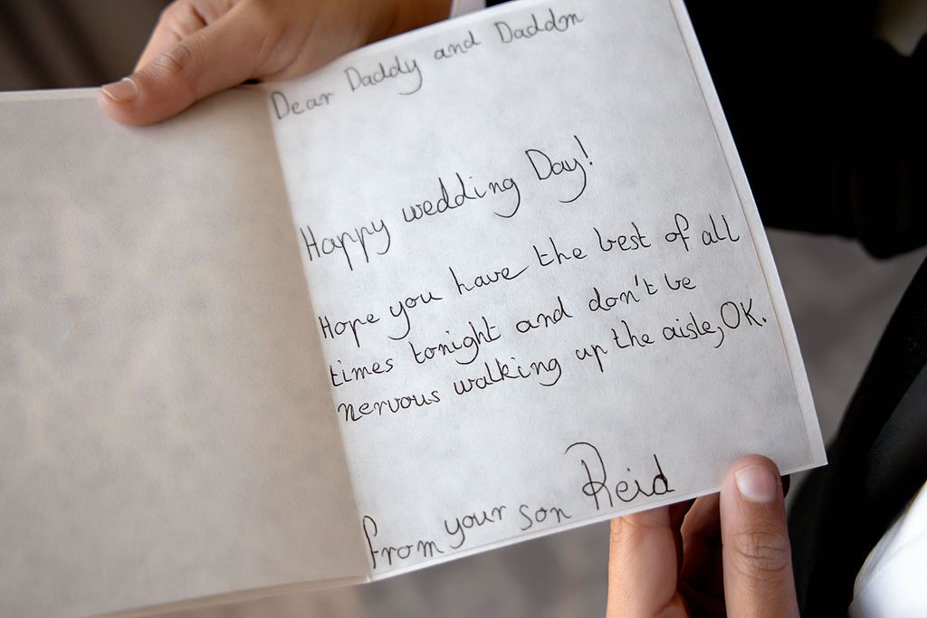 letter to fathers from son