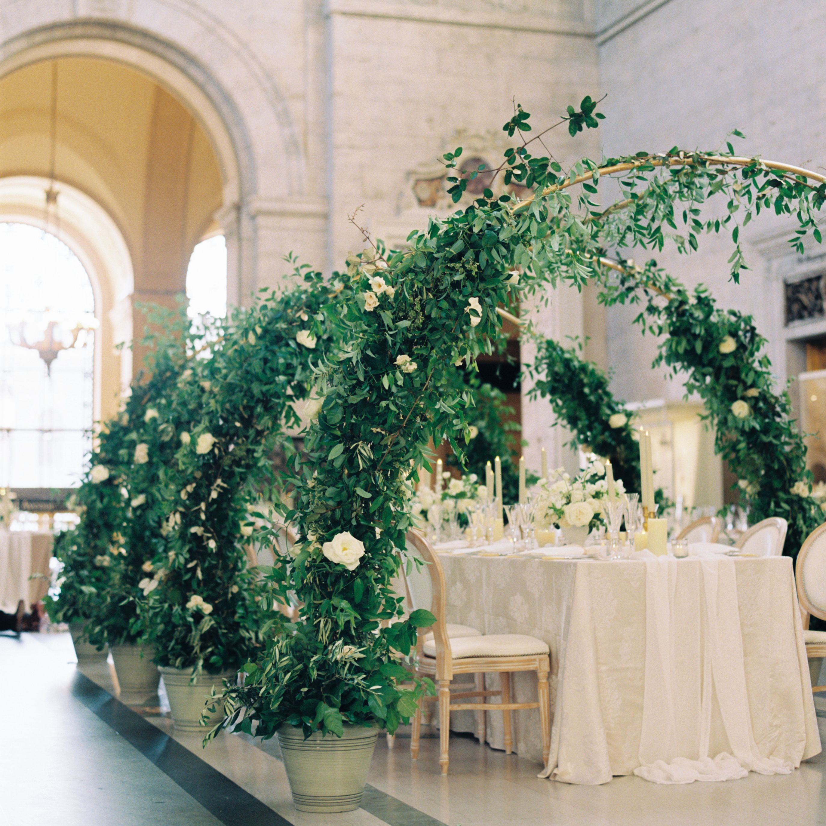 11 Creative Ways To Make A Big Space Feel Intimate For Your Small Wedding