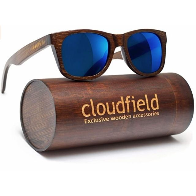 Cloudified Wooden Sunglasses