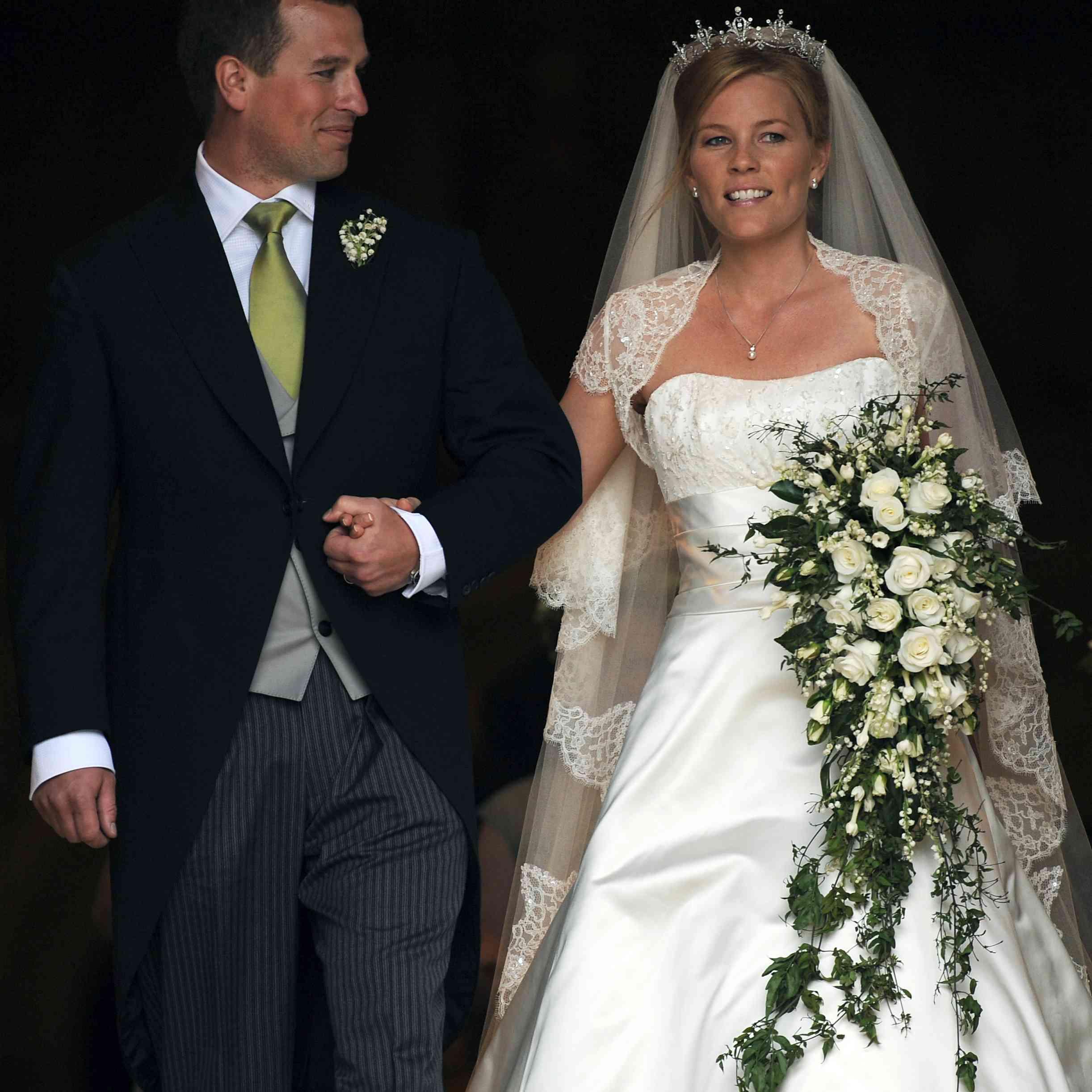 Peter Phillips marries Autumn Kelly
