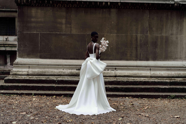 Dahlia Dress With Dahlia Bow