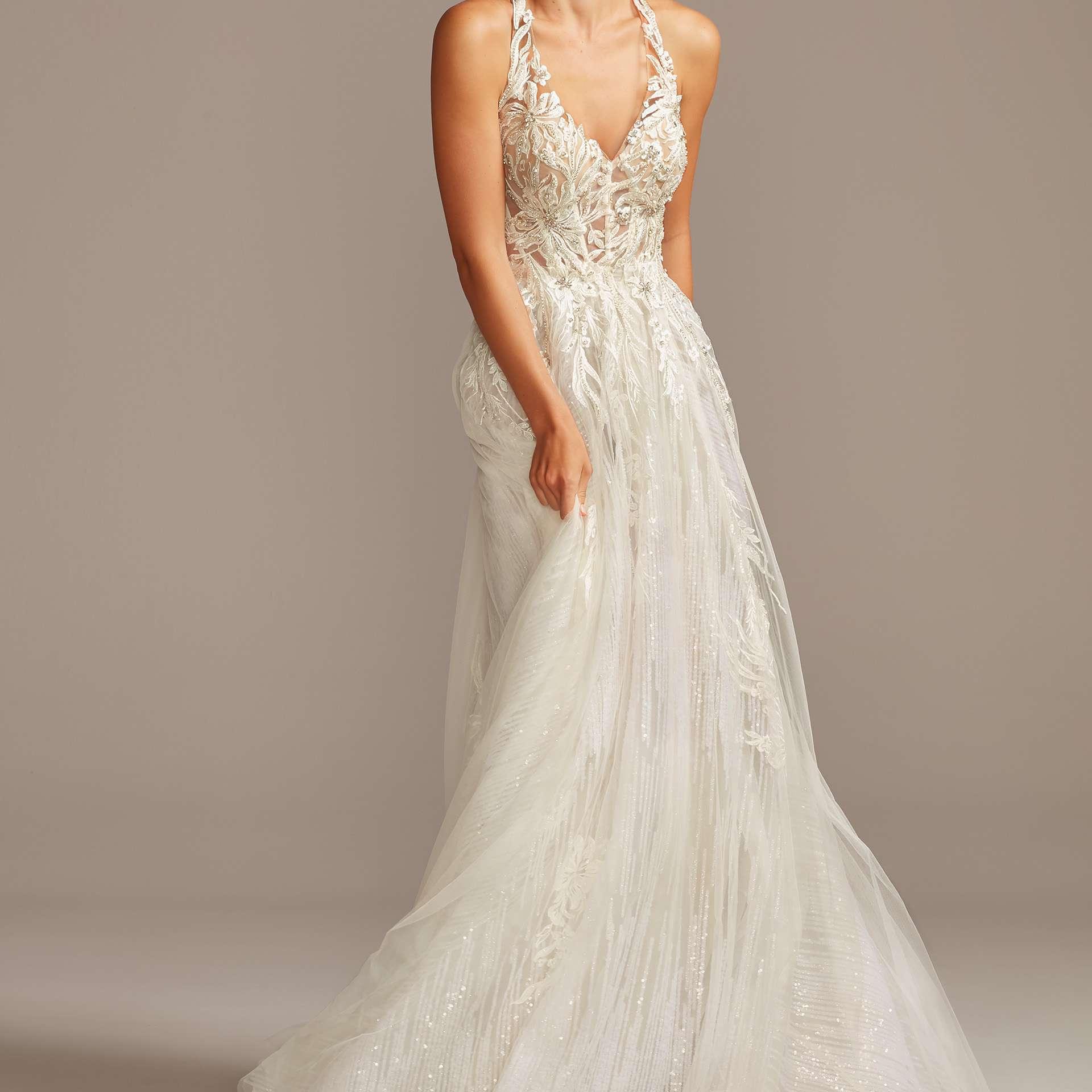 David S Bridal Wedding Gowns: Galina Signature For David's Bridal Wedding Dress