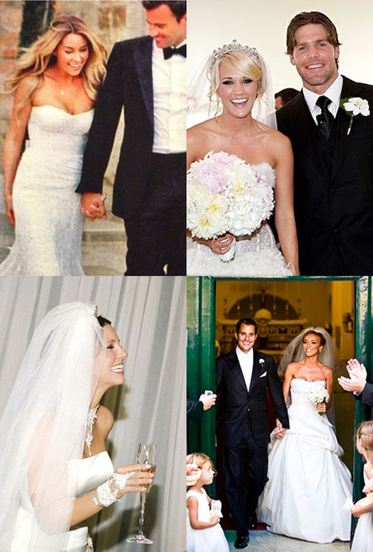14 Celebrities Who Wore Monique Lhuillier On Their Wedding Day