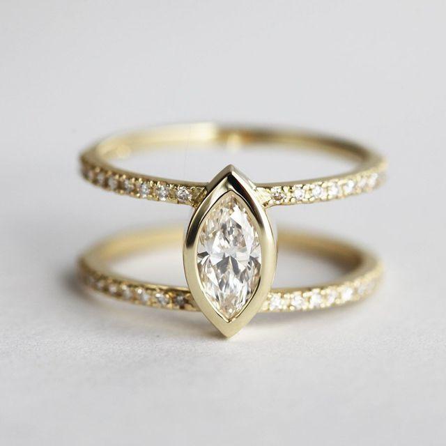 Capucinne Diamond Engagement Ring