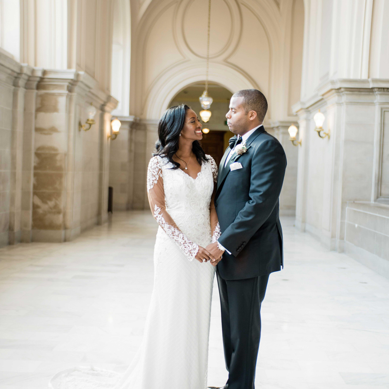 An Elegant Wedding At San Francisco City Hall