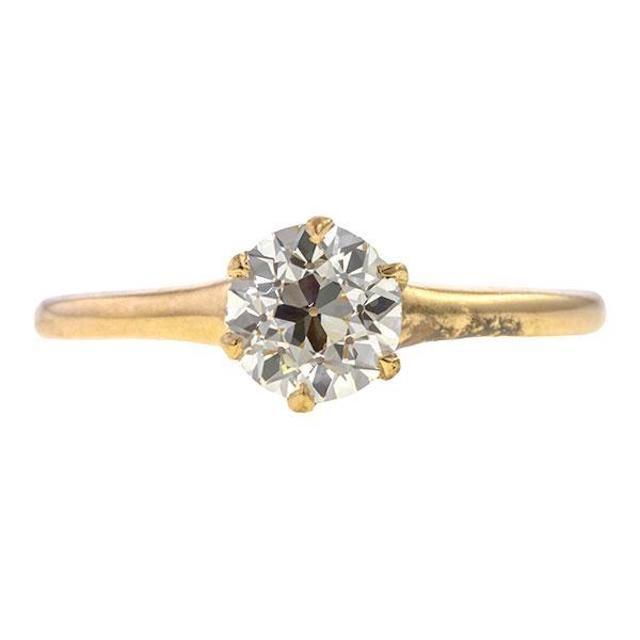 Doyle & Doyle Vintage Solitaire Engagement Ring