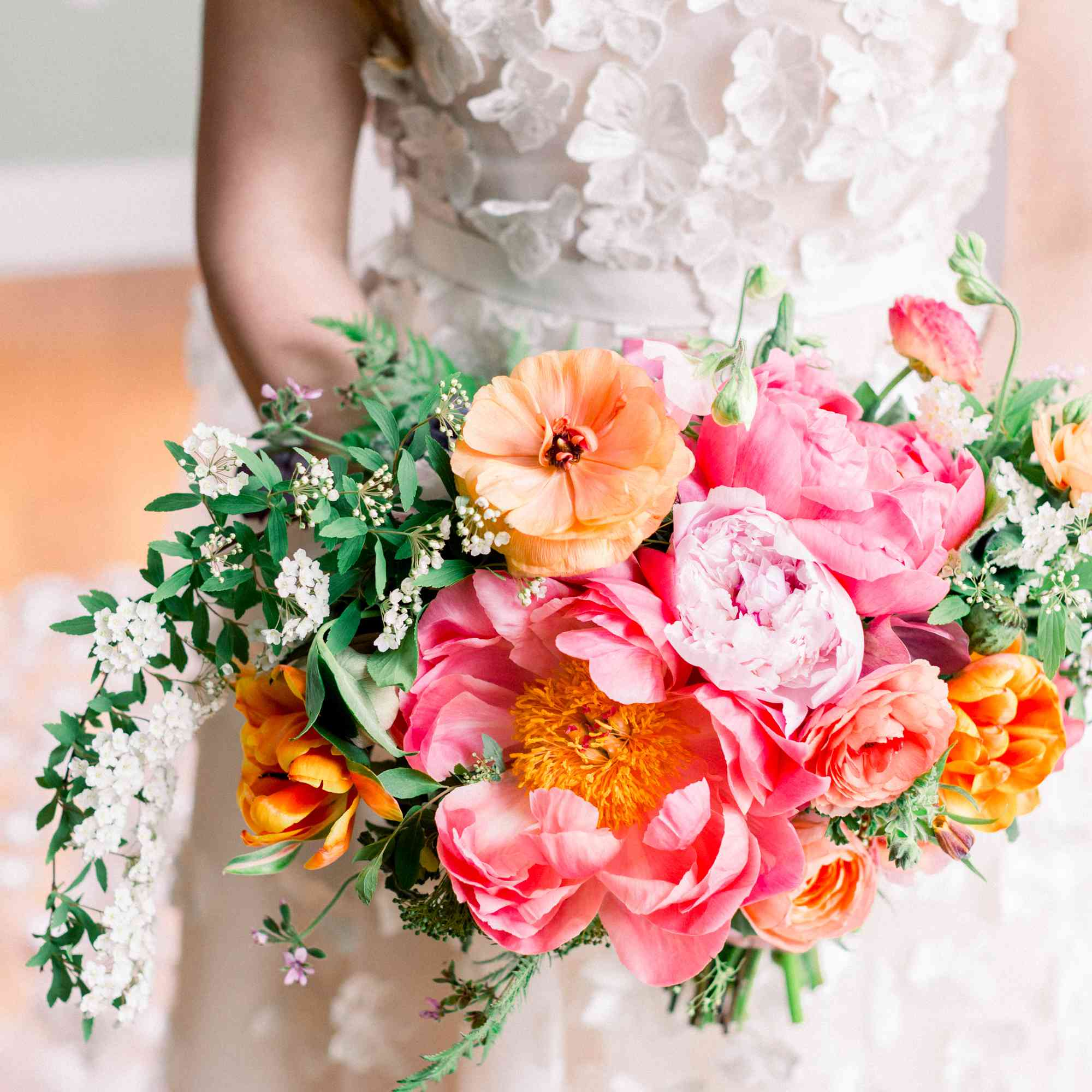 <p>colorful wedding bouquet</p><br><br>