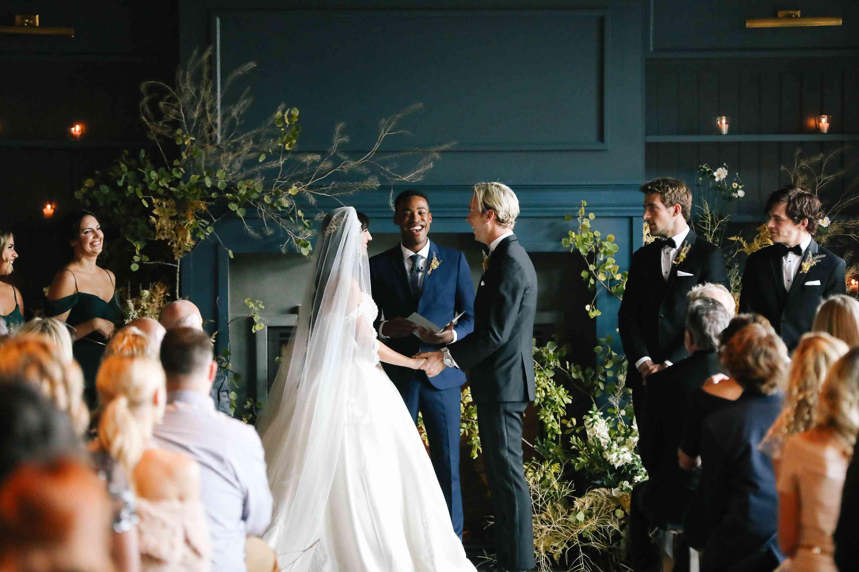 savannah and riker wedding, ceremony