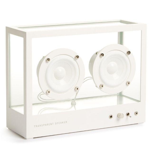 Transparent Sounds Small Transparent Speaker