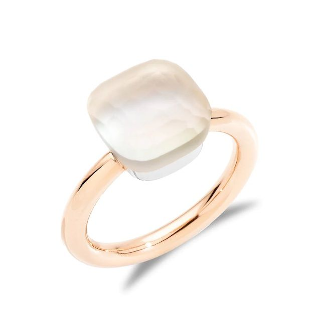 Pomellato Nudo Gelè Classic White Topaz Ring