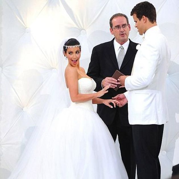 A Look Back At All Of The Kardashian Weddings In Photos