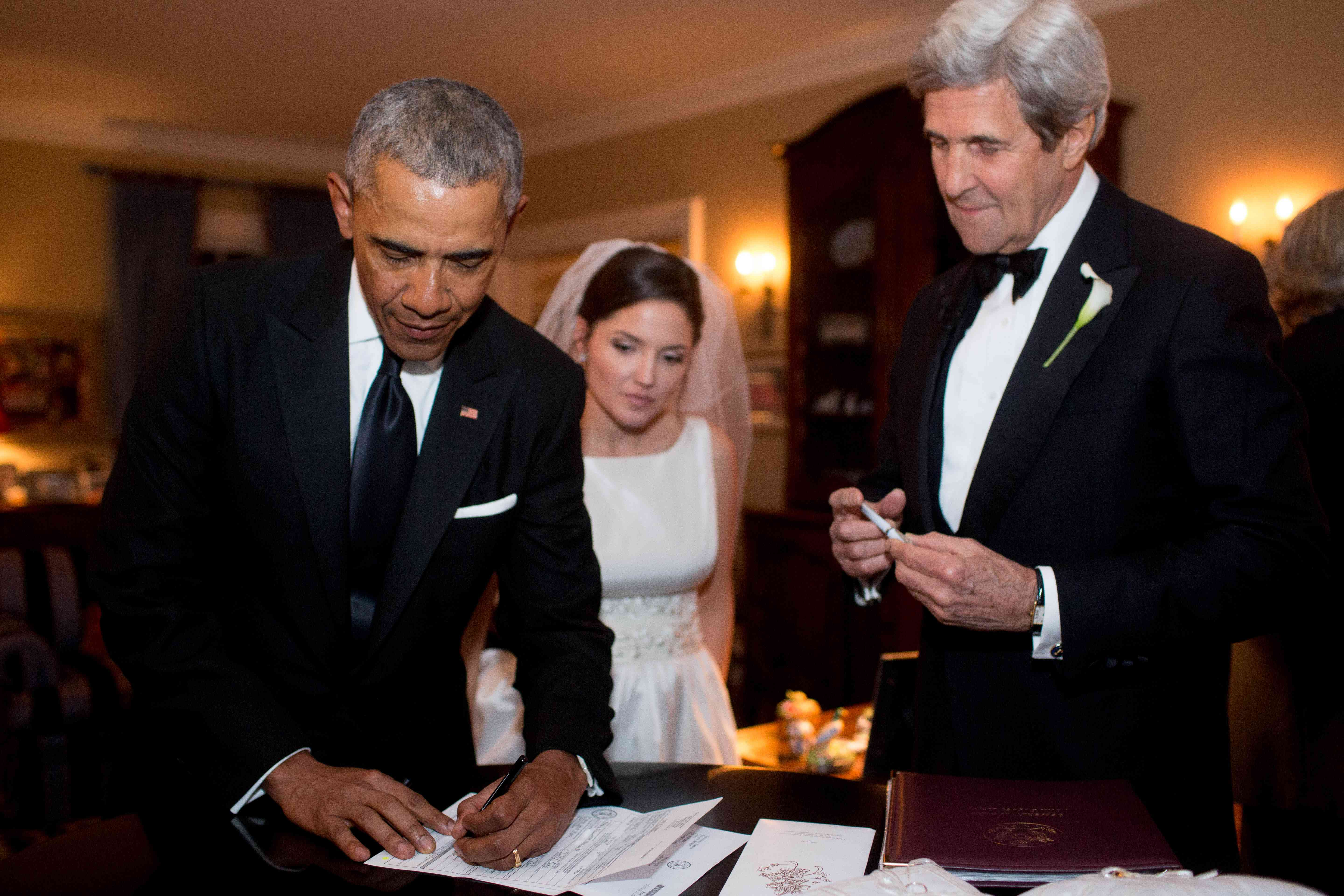<p>President Obama and John Kerry</p><br><br>