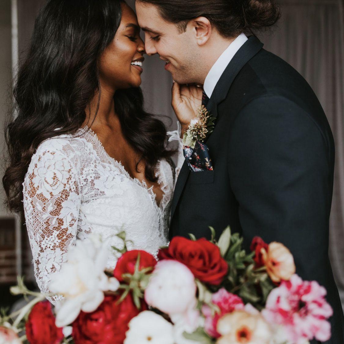 bride and groom in Atlanta