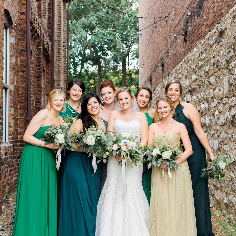 Wedding Gowns Nashville: A Greenery-Filled Warehouse Wedding In Nashville