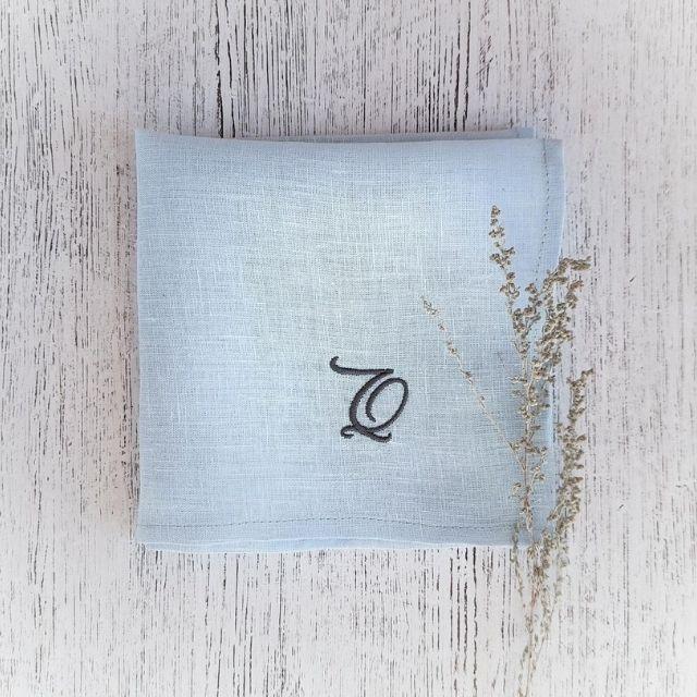 goodbirds Wedding Linen Handkerchief