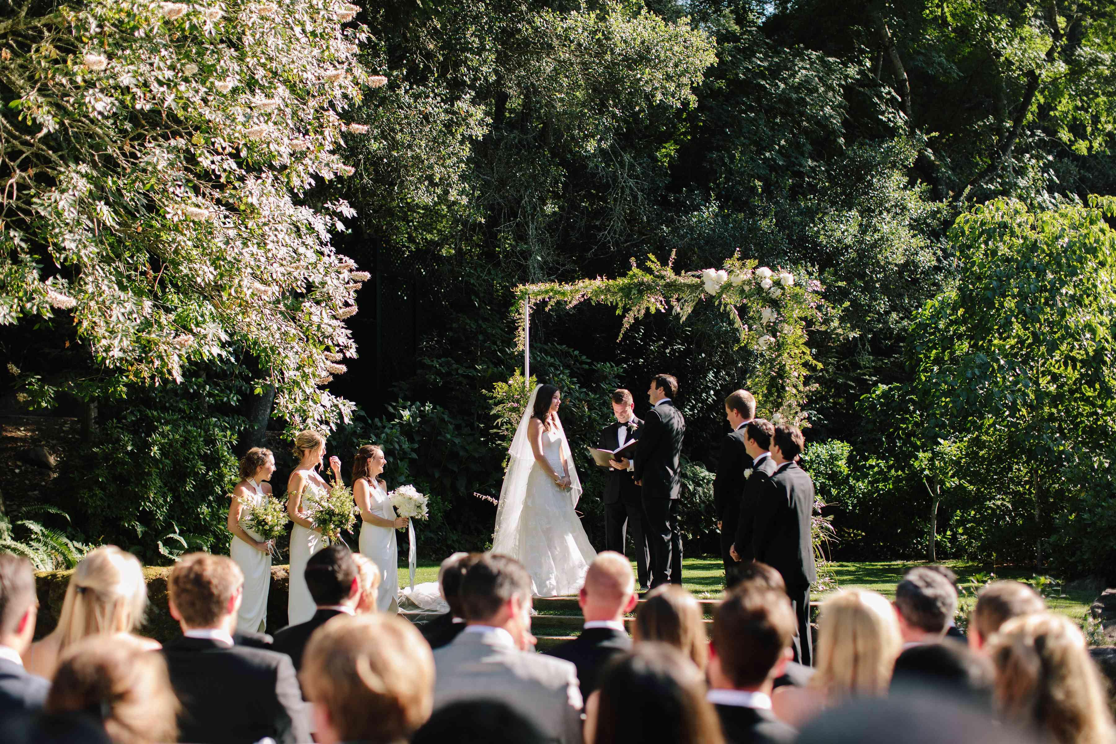 <p>outdoor ceremony</p><br><br>