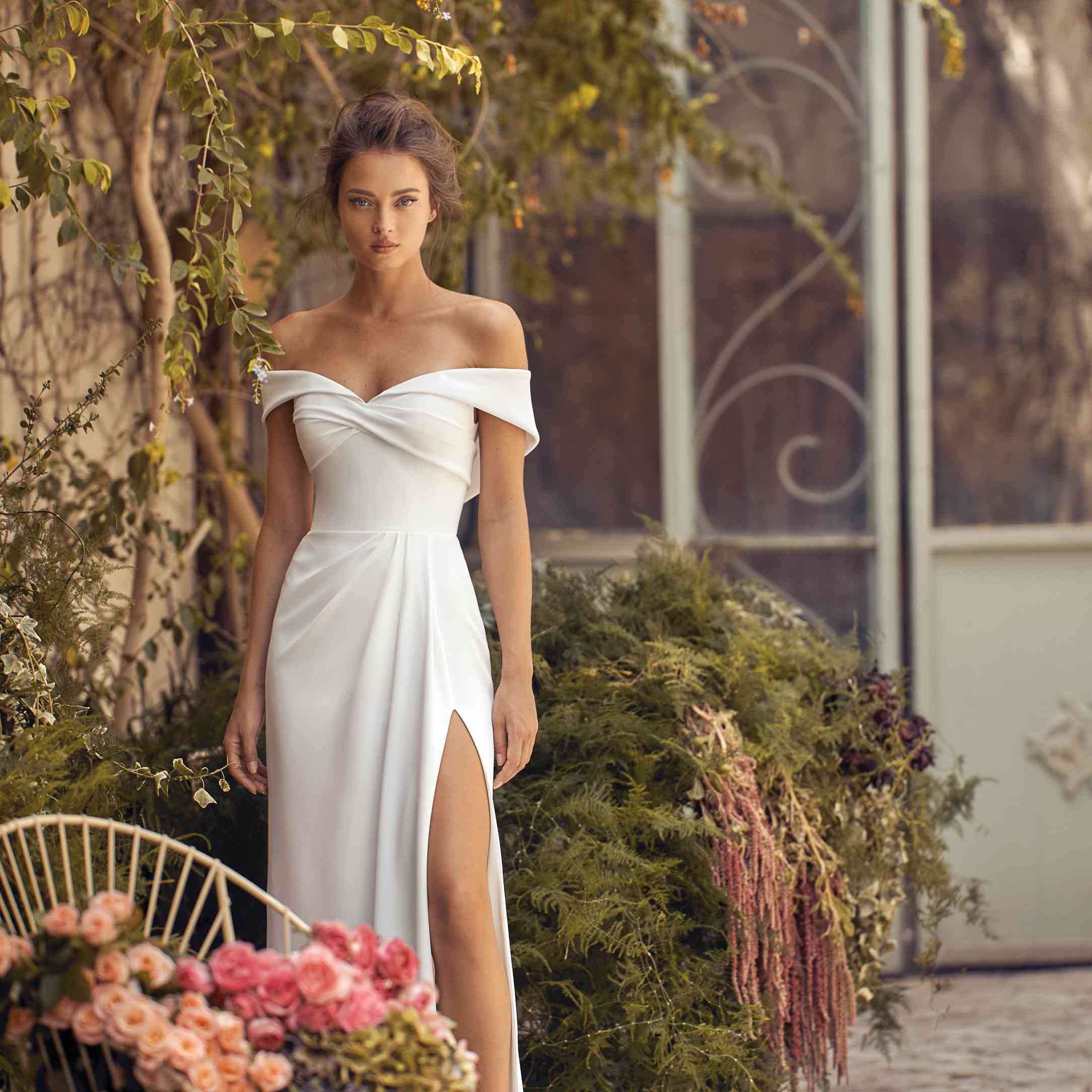Asia wedding dress