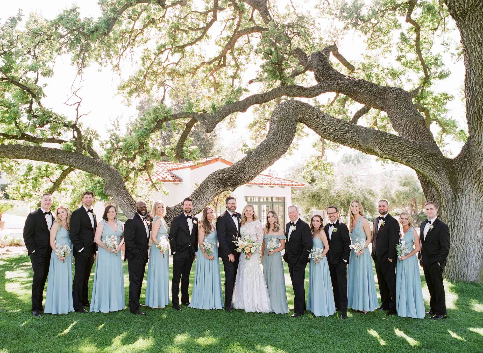 Alternating Bridesmaids and Groomsmen