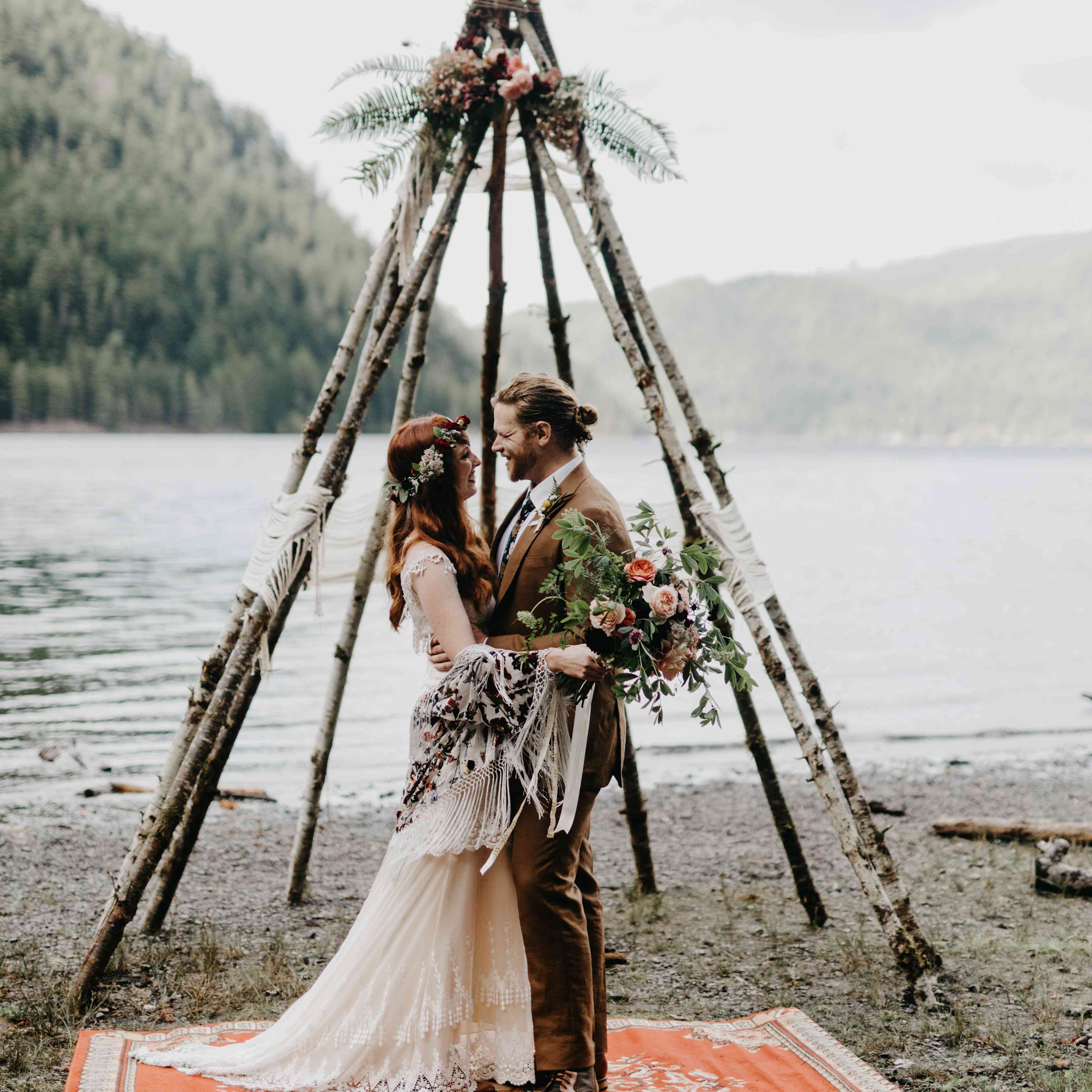 Rustic Wedding Altar Ideas: 60 Amazing Wedding Altar Ideas & Structures For Your Ceremony