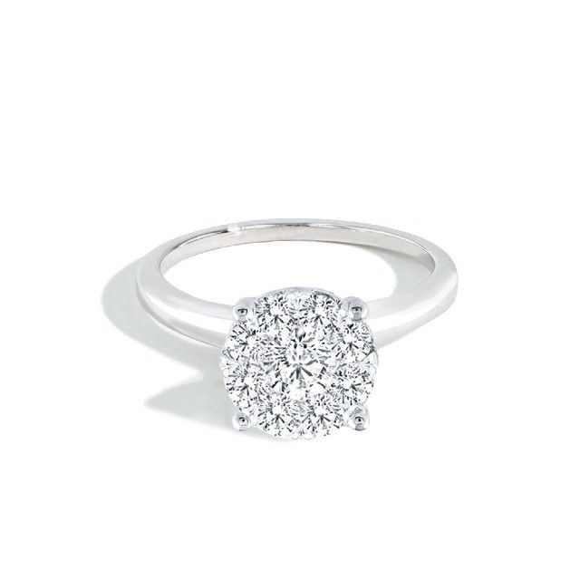 round cluster ring