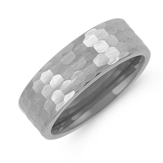 titanium wedding band