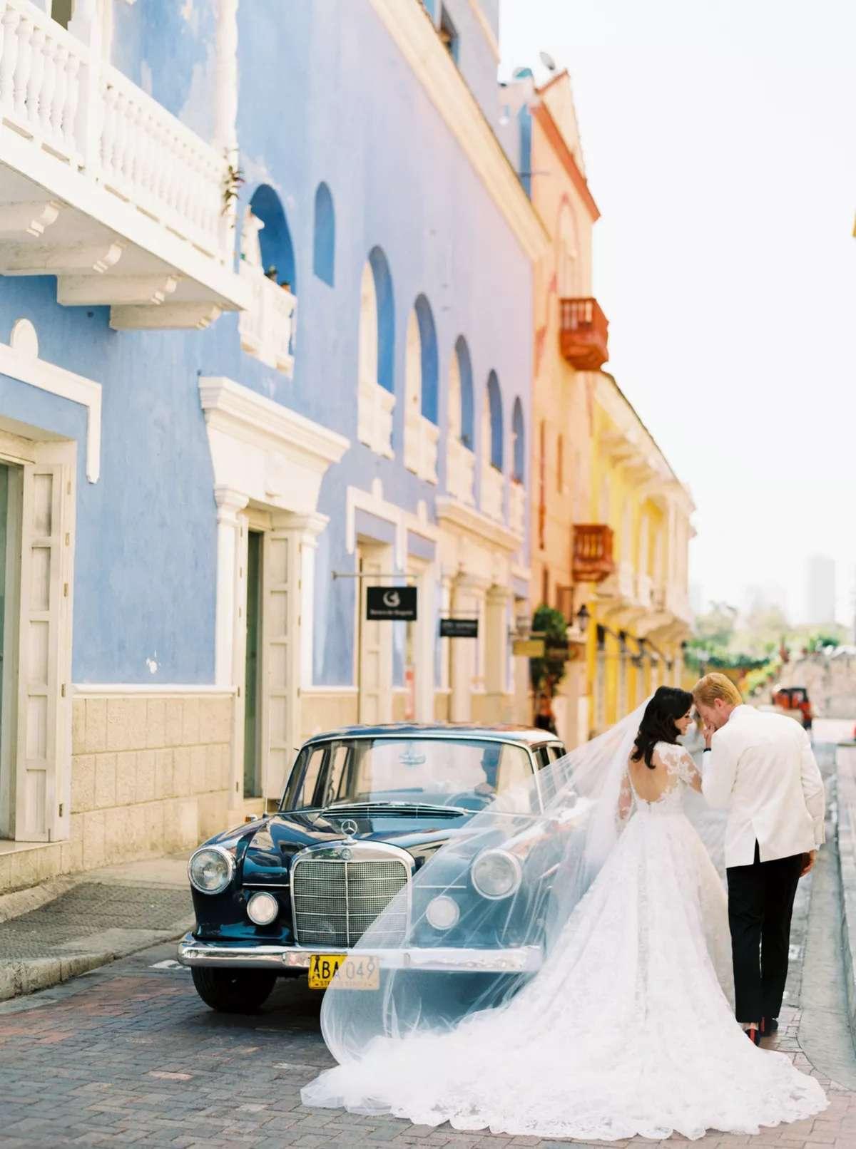 Cartegena, Colombia wedding