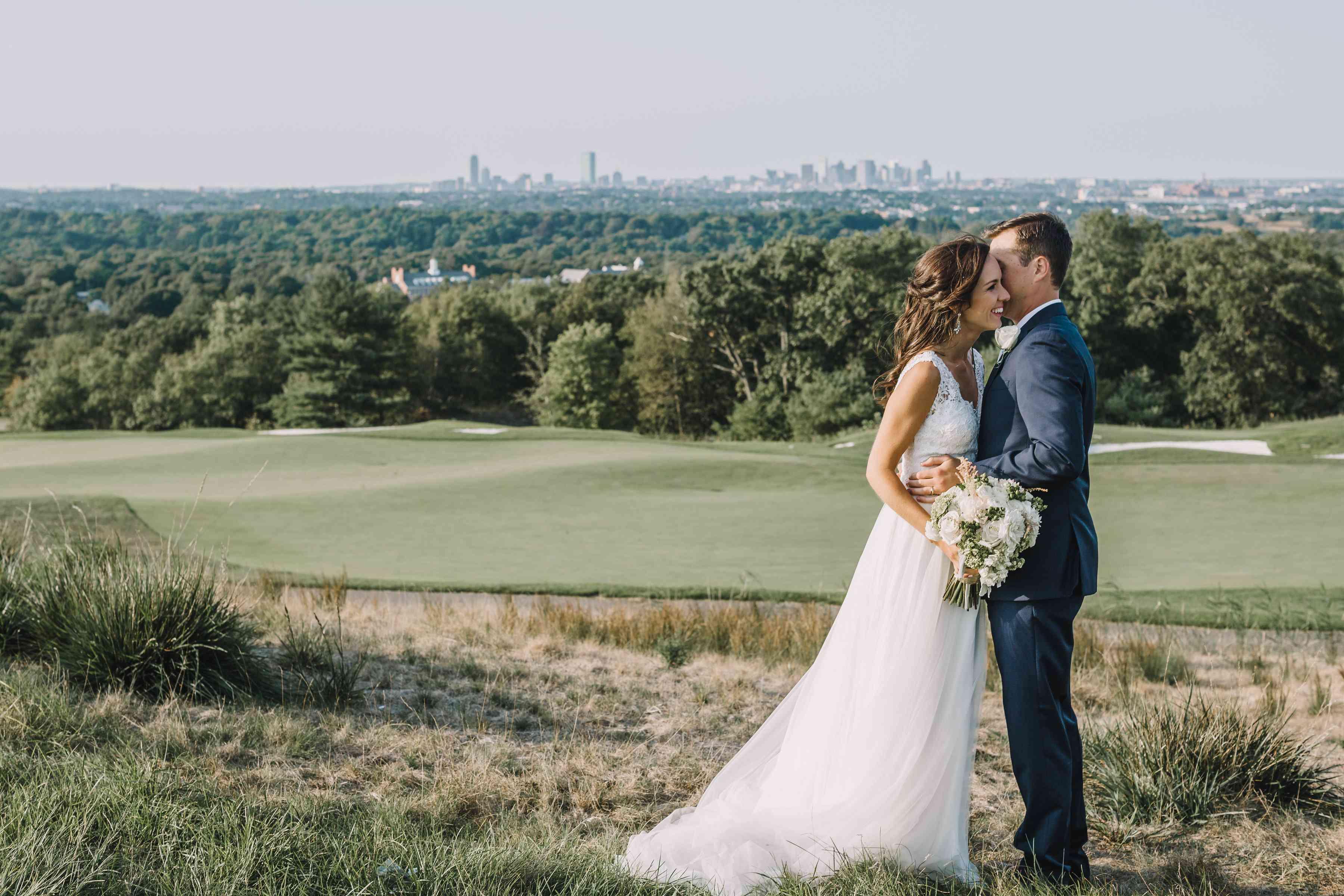 <p>Wedding photo at Granite Links Golf Club</p>