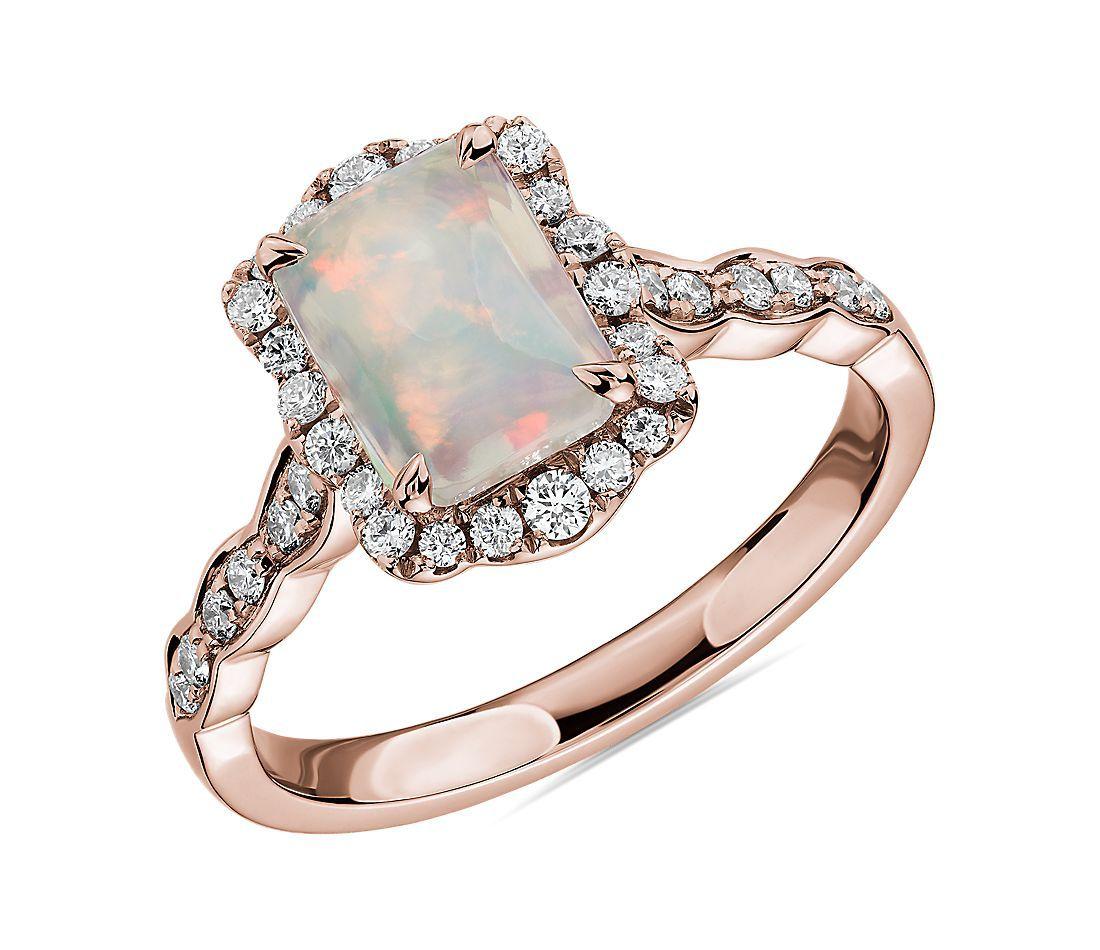 Blue Nile Opal