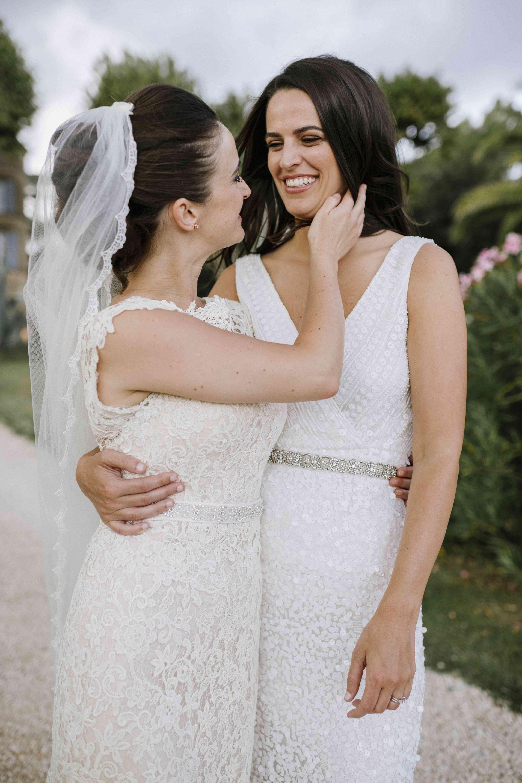 <p>brides in wedding dresses</p>
