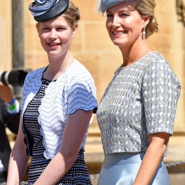 Lady Louise Windsor and Sophie, Countess of Wessex