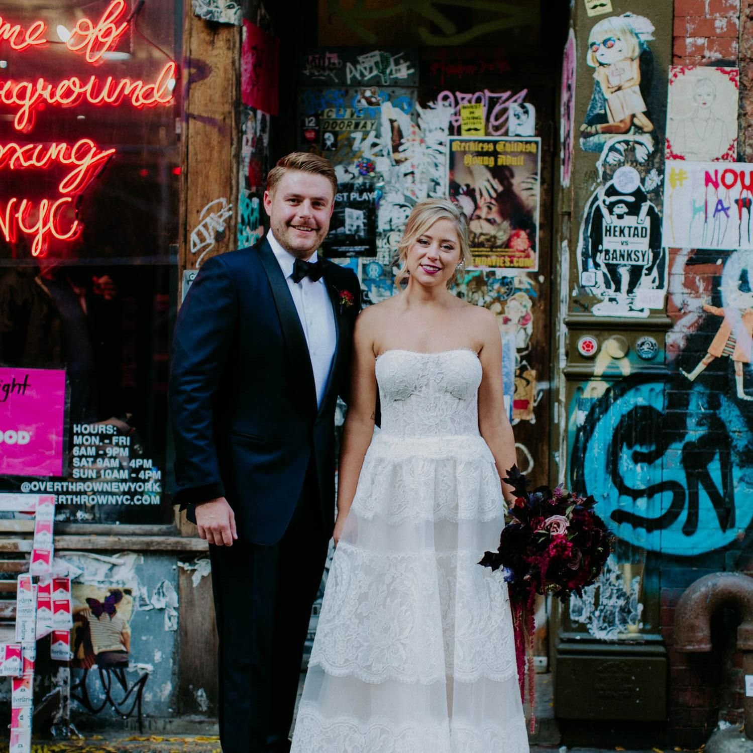 A Beautifully Edgy Wedding Inspired by Beauty and the Beast and ...