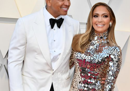 <p>Alex Rodriguez and Jennifer Lopez attend the 91st Annual Academy Awards</p>