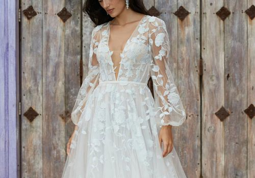 Willowby long sleeve gown