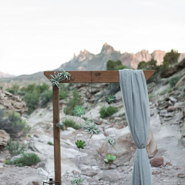 Desert altar