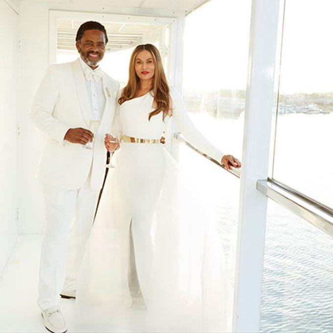 Tina Knowles marries Richard Lawson in Romona Keveza, 2015
