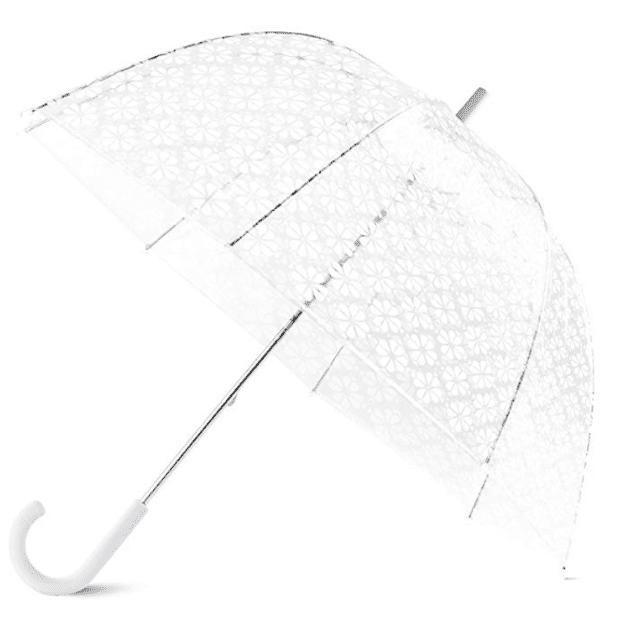 Kate Spade New York Large Dome Flower Umbrella