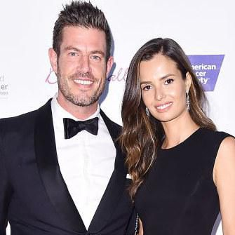 Jesse Palmer and model Emely Fardo attend the 2017 DreamBall To Benefit Look Good Feel Better at Cipriani 42nd Street.