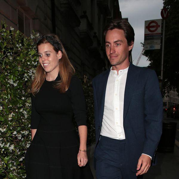Princess Beatrice and Edoardo Mappeli Mozzi